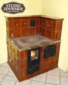 kuchnie1b Rocket Stoves, Diy Sauna, Oven, Hearths, Kitchen Appliances, Studio, Interior, House, Outside Wood Stove