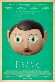 Frank Movie poster Metal Sign Wall Art 8in x 12in