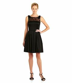 317d505ce82 Tahari by ASL BowShoulders FitandFlare Dress  Dillards less than 40 bucks  at belk Cruise Outfits