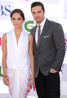 2012 TCA Summer Tour - CBS, Showtime And The CW Party - Kristin Kruek & Jay Ryan.