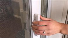 The Mirage PivotPro Easy Release handle allows the retractable screen to be opened and closed effortlessly. It operates with a simple twist of the handle! Retractable Screen Door, Screen Doors, Glass Door, French Doors, Balcony, Door Handles, Porch, Simple, Easy