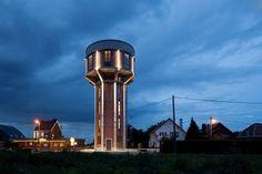 Un château d'eau pour maison familiale - ARCHIONLINE