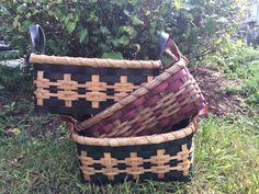 Basket Weaving PATTERN for Bold Storage Basket - Instant PDF Download