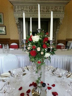 candelabra simple flowers - Google Search