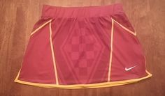 Lot of 5 FSU Florida State Seminoles Lacrosse Womens Nike Skirt NCAA DRI-FIT #nike
