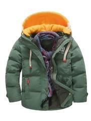 XUANOU Kids Baby Girl Boys Winter Hooded Coat Cloak Jacket Thick Warm Outerwear