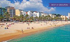 Groupon Voyages à Lloret de Mar : Vacances d'été en pension complète sur la Costa Brava: #LLORETDEMAR En promotion à 329€. Hôtel avec Spa,…