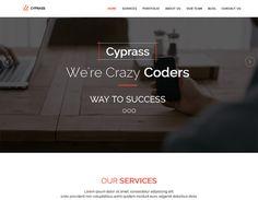 Cyprass - Html5 responsive business template