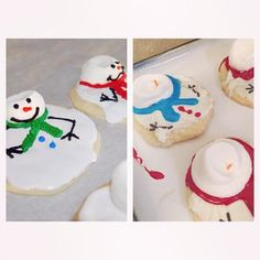 Maybe the snowman's eyes melted off too. #pinterestfail