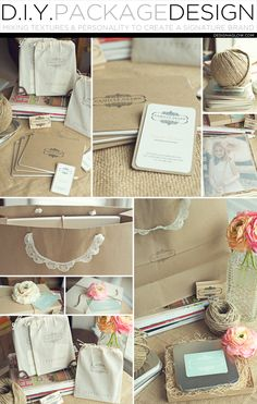 Camille Ridinger, of Camille Deann Photography, in Lawrenceville, G.A. gives us a peek into the design of her unique packaging. Camille's Sources: • Kraft gift