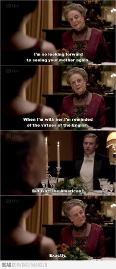 Yes! Downton Abbey!