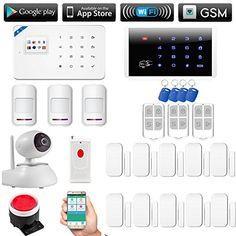 Fuers WIFI&GSM Wireless Touch Keypad Home Office Security Alarm System DIY Kit w/ WIFI 720P IP Camera Night Vision,Wireless Panic Button,3 Wireless PIR Motion Detector,10 Wireless Door/Window Contacts -  http://www.wahmmo.com/fuers-wifigsm-wireless-touch-keypad-home-office-security-alarm-system-diy-kit-w-wifi-720p-ip-camera-night-visionwireless-panic-button3-wireless-pir-motion-detector10-wireless-doorwindow-contacts/ -  - WAHMMO