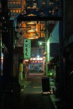 夜散歩のススメ「盃横丁」埼玉県所沢市