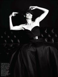 Marion Cotillard | Mario Sorrenti #photography | Vogue Paris August 2012