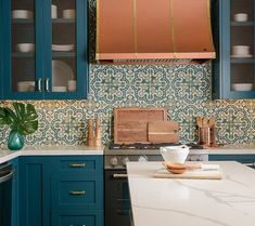 It's REVEAL day at our We're so excited to share the before and afters of this 1929 Spanish Casa because this is one amazing transformation! Mudroom Cabinets, Kitchen Cabinets, Kitchen Colors, Kitchen Decor, New Kitchen Designs, Functional Kitchen, Condo Living, French Decor, Beautiful Space