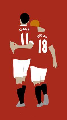 Giggs & Scholes