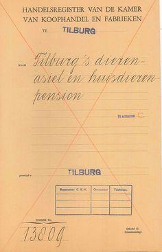 Handelsregisterdossier Tilburg's dierenasiel en huisdierenpension by Brabant Bekijken, via Flickr