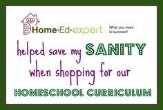 A resource to help you pick your homeschool curriculum