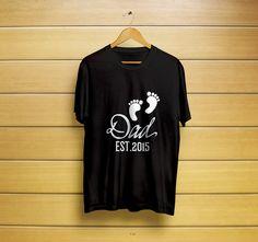 Dad est 2015 Gift T-shirt #dadestt-shirt #dadest2015t-shirt #dadest2015shirt #dadesttee #newdadgift #dadshirt #newdad #t-shirt #shirt #customt-shirt #customshirt #menst-shirt #mensshirt #mensclothing #womenst-shirt #womensshirt #womensclothing #clothing #