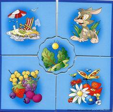 времена года.карточки для детей. Обсуждение на LiveInternet ... 3 www.liveinternet.ru