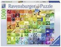 1500 pcs jigsaw puzzle: Beautiful Colors (Art) (Ravensburger 163229) #Ravensburger