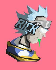 Doc Rick by BossLogic Inc | Rick & Morty