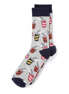 Fast Food Drink Socks