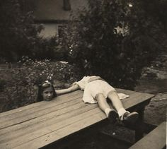 Pretty much some of the creepiest stuff you'll see all day.  35 Vintage Creepy Photos You Just Can't Explain.