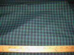 Ralph Lauren Sundeck Plaid Fabric 2 5 Yards Ralph