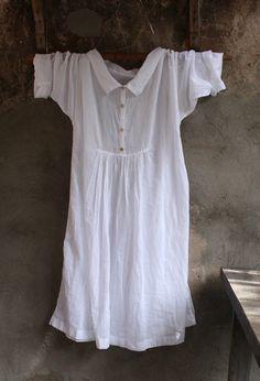 White Cotton Dress MegbyDesign