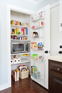 Pantry organization Young House Love | Let The Pantry Party Commence | http://www.younghouselove.com