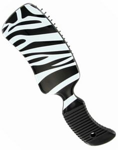 Saddles Tack Horse Supplies - ChickSaddlery.com Tail Tamer Print Contour Brush