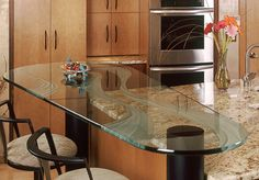 Using Glass on Your Countertop