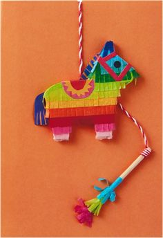 A fiesta in an envelope, this clever card will be a big birthday hit, thanks to…