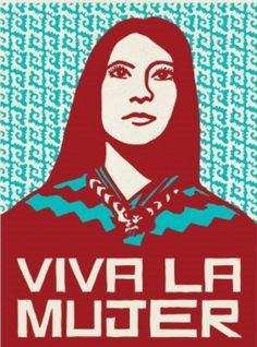 By artist, Melanie Cervantes. She is a local Chicana artivist.
