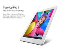 SpeedUp Pad 8, Tablet Lokal Dengan Sejuta Konten   GadgetAsli.com