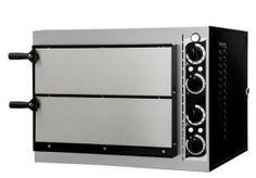 Forno elettrico manuale studiato per un ottima  cottura della pizza realizzato con materiali di ottima qualità si contraddistingue per un ottimo rapporto prezzo/qualità. Dimensioni esterne 57.5x51.5x41.5H Dimensioni camera interna 41x36x9h Potenza 2,4KW