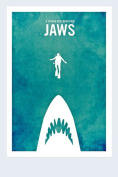 Jaws - This was the scariest movie I've ever seen! Have been afraid to go in the water ever since.