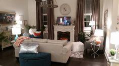 Living Room Furniture Arrangement, Furniture Design, Loft, Couch, Home Decor, Settee, Decoration Home, Sofa, Room Decor