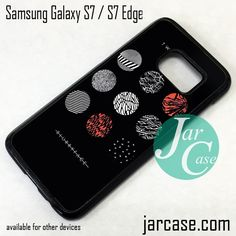 21 Pilots Blurryface Phone Case for Samsung Galaxy S7 & S7 Edge