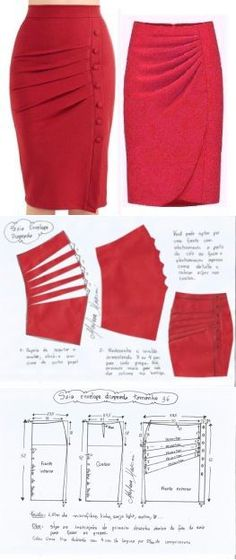 Amazing Sewing Patterns Clone Your Clothes Ideas. Enchanting Sewing Patterns Clone Your Clothes Ideas. Skirt Patterns Sewing, Clothing Patterns, Pattern Skirt, Pencil Skirt Patterns, Skirt Sewing, Pattern Sewing, Coat Patterns, Pattern Drafting, Blouse Patterns