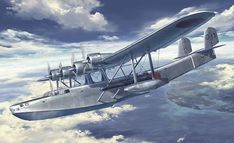 川西 H6K5 九七式大型飛行艇 23型
