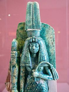 """Queen Tiye (c. 1398 BCE – 1338 BCE) """"thematriarch of the Amarna Dynasty, also referred to as: Lady of The Two Lands; Hereditary Princess; Great of Praises; Sweet of Love; King's Wife; Great King's Wife; Great King's Spouse;King's Wife, His Beloved; Mistress of Upper and Lower Egypt; Mistress of the Two Lands."""""""