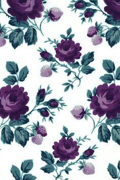 Flores primavera morado rosas