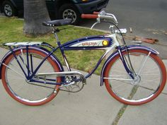 Love to have ..1937 Schwinn Auto cycle