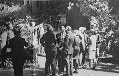 Borges todo el año: Jorge Luis Borges: Los premios nacionales de poesía 1961-1965 - Foto: Alberto Girri, Adolfo Bioy Casares, Silvina Ocampo y Jorge Luis Borges en Villa Ocampo, c. 1965