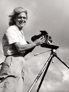 Margaret Bourke White, ( 1904 – 1971) was an American photographer and documentary photographer. She is best known as the first foreign photographer permitted to take pictures of Soviet industry, the firsthand American female war photojournalist, and the first female photographer for Life magazine, where her photograph appeared on the first cover.