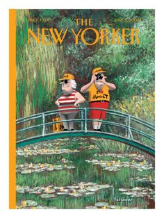 The New Yorker Cover - June 5, 2000   by Ian Falconer