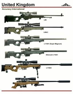 Accuracy International Sniper Rifle L96 and L115 Series