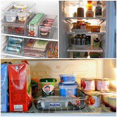 como organizar a geladeira -